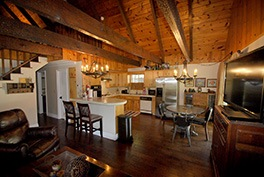 Ty Wallace River House kitchen