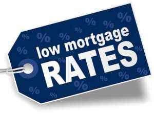 Low Mortgage Rates Graphic